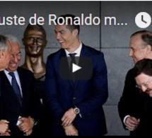 Un buste de Ronaldo moqué sur la toile