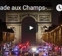 Fusillade aux Champs-Elysées à Paris