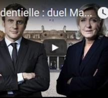 Présidentielle : duel Macron-Le Pen au second tour, front républicain contre le FN