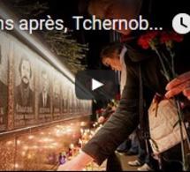31 ans après, Tchernobyl commémore la catastrophe nucléaire