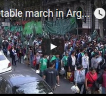 La marche des légumes en Argentine