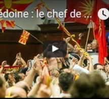 Macédoine : le chef de l'opposition blessé par des manifestants dans l'enceinte du Parlement