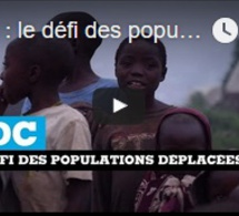 RDC : le défi des populations déplacées