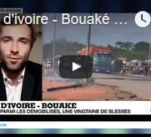 Côte d'ivoire - Bouaké : 4 morts parmi les démobilisés, une vingtaine de blessés