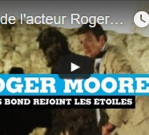 Mort de l'acteur Roger Moore : James Bond rejoint les étoiles