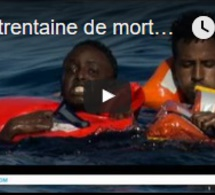Une trentaine de morts dans un naufrage en Méditerranée