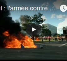 Brésil : l'armée contre les manifestants