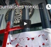 Des journalistes mexicains réclament justice