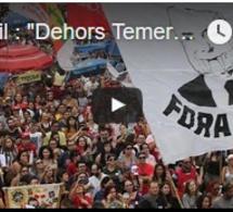 """Brésil : """"Dehors Temer"""" en musique"""