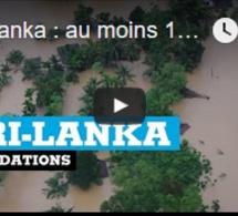 Sri Lanka : au moins 180 morts et plus de 500 000 évacuations à cause de la mousson