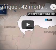Centrafrique : 42 morts à Bria, malgré l'accord de paix