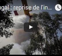 Portugal : reprise de l'incendie, la polémique enfle
