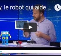 Marty, le robot qui aide les enfants à programmer