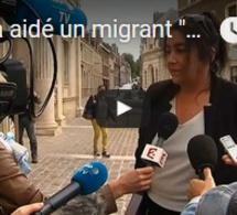 """Elle a aidé un migrant """"par amour"""" et risque la prison"""