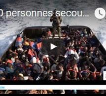 8 000 personnes secourues en 48h en Méditerranée
