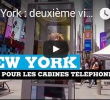 New York : deuxième vie pour les cabines téléphoniques