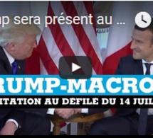 Trump sera présent au défilé du 14 juillet