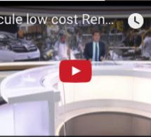 Véhicule low cost Renault : le Maroc fournit 50 % du marché français