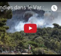 Incendies dans le Var : environ 10 000 personnes évacuées dans la nuit