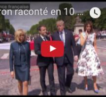 Macron raconté en 10 chansons de Rihanna
