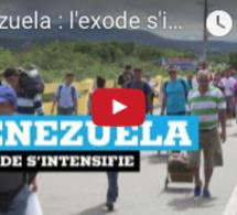 Venezuela : l'exode s'intensifie