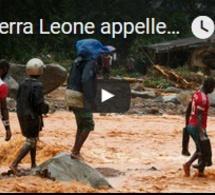 La Sierra Leone appelle à l'aide après des inondations meurtrières