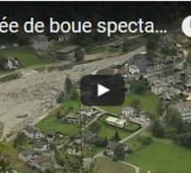 Coulée de boue spectaculaire, pas de victimes