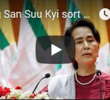 Aung San Suu Kyi sort de son silence