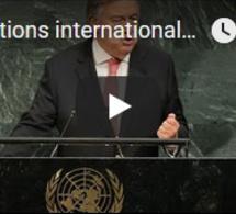 Réactions internationales au discours d'Ang San Suu Kyi