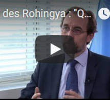 """Crise des Rohingya : """"Qu'ils nous laissent entrer"""", plaide le Haut-Commissaire aux droits de l'Homme"""