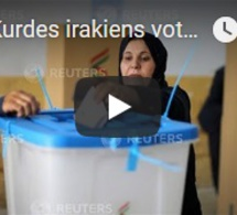 Les Kurdes irakiens votent sur leur indépendance