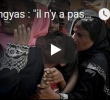 """Rohingyas : """"il n'y a pas de génocide"""""""