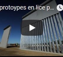 Huit protoypes en lice pour le mur de Trump