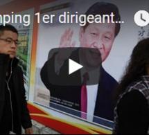 Xi Jinping 1er dirigeant à entrer ds la charte du Parti communiste chinois de son vivant depuis Mao