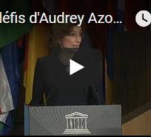 Les défis d'Audrey Azoulay à l'UNESCO