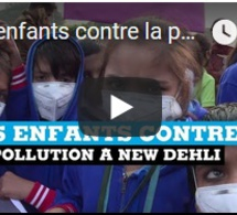 Les enfants contre la pollution à New Dehli