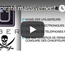 Uber piraté massivement