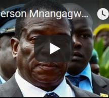 Emmerson Mnangagwa rentre en héros au Zimbabwe pour succéder à Robert Mugabe