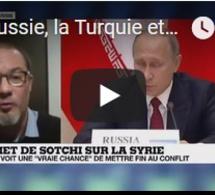 """La Russie, la Turquie et l'Iran s'entendent sur la tenue d'un """"congrès national syrien"""""""