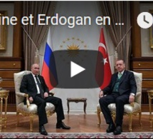 Poutine et Erdogan en symbiose pour fustiger Washington