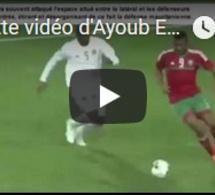 Palette vidéo de la prestation d'Ayoub El Kaabi