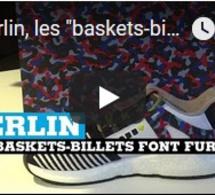 """À Berlin, les """"baskets-billets"""" font fureur"""