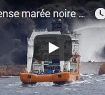 Immense marée noire après le naufrage du Sanchi