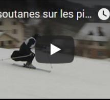 Des soutanes sur les pistes de ski polonaises !