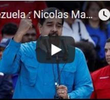 Venezuela : Nicolas Maduro convoque une présidentielle anticipée