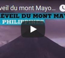 Le réveil du mont Mayon aux Philippines