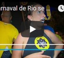 Le carnaval de Rio se mobilise contre le maire Marcelo Crivella