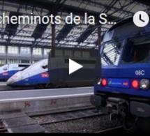 Les cheminots de la SNCF appellent à une grève longue et dure