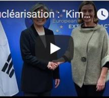 """Dénucléarisation : """"Kim Jong-Un a donné sa parole"""" selon la Corée du sud"""