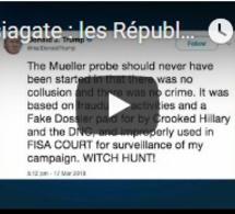 Russiagate : les Républicains obligent Trump à reculer